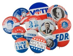 american political badges
