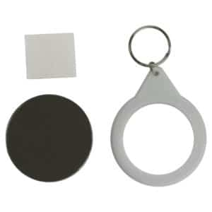 Mirror keyring - back only