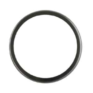Metal circular rim of a compact mirror to be used in a badge making machine