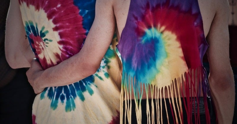 Tie Dye craft idea