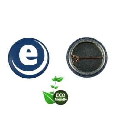 ECO Friendly Open Back (D-pin) Badge Sets