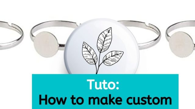 Blog header with images of rings and tutorial on how to make custom rings