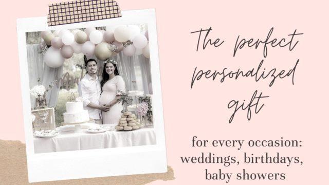 Example of wedding photo artwork for bespoke items