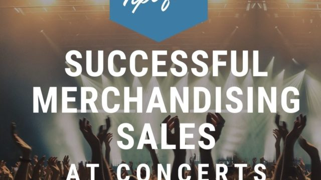 Artwork relating to merchandising sales at concerts