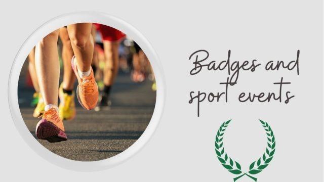 Button Badges Sport